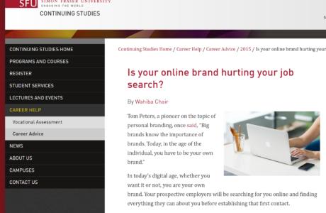 Wahiba chair sfu blog