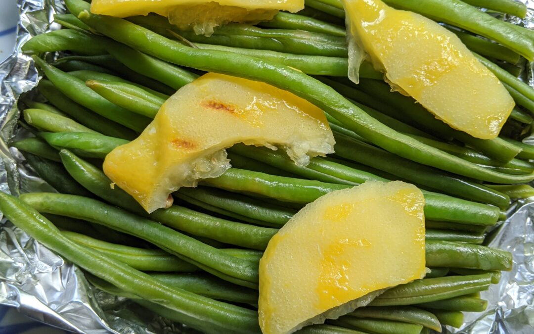 Steam-Grilled Green Beans