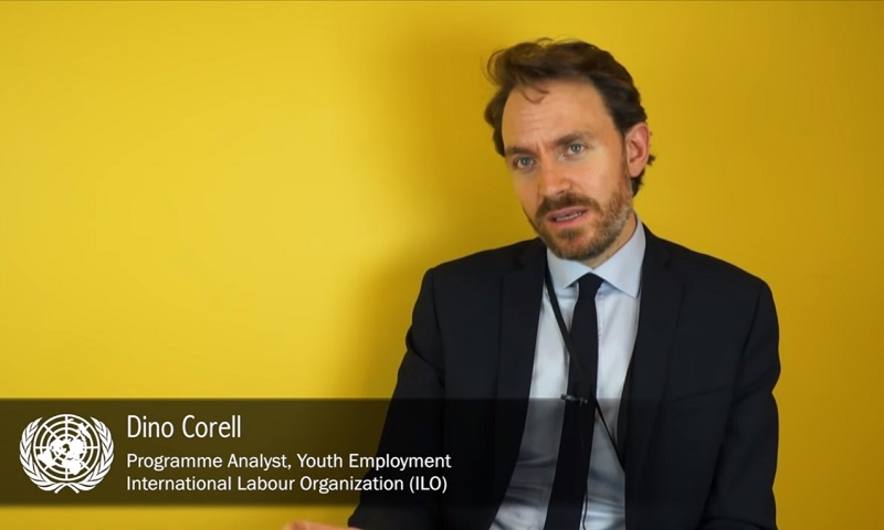 Interview with Dino Correll, Youth Employment, ILO