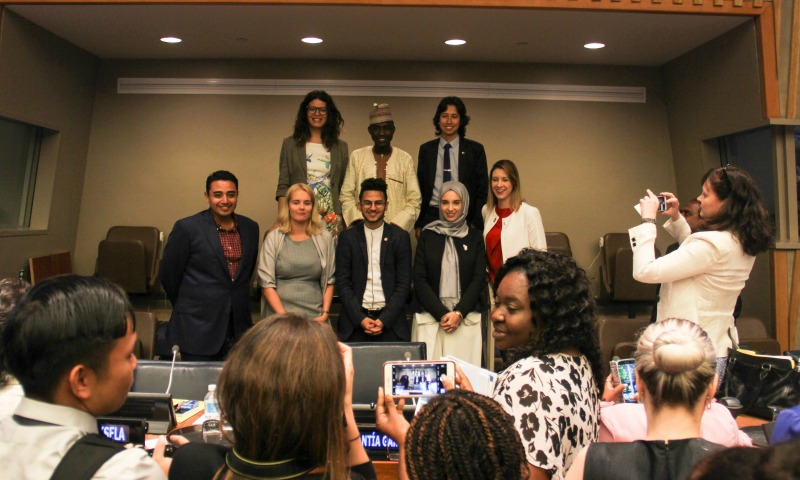 International Youth Day showcases young peoples' role in building peace