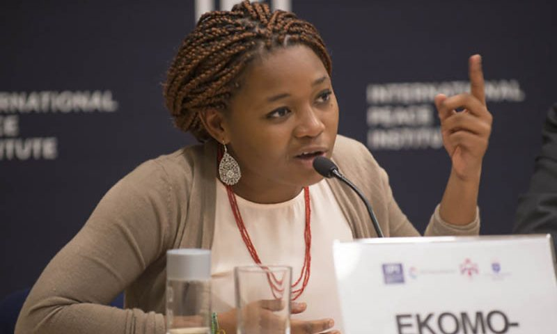 Interview with Kessy Ekomo-Soignet, a peacebuilding expert in Africa