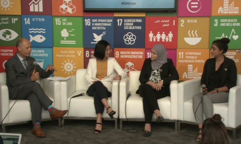Empowering Women and Girls, SDG Media Zone