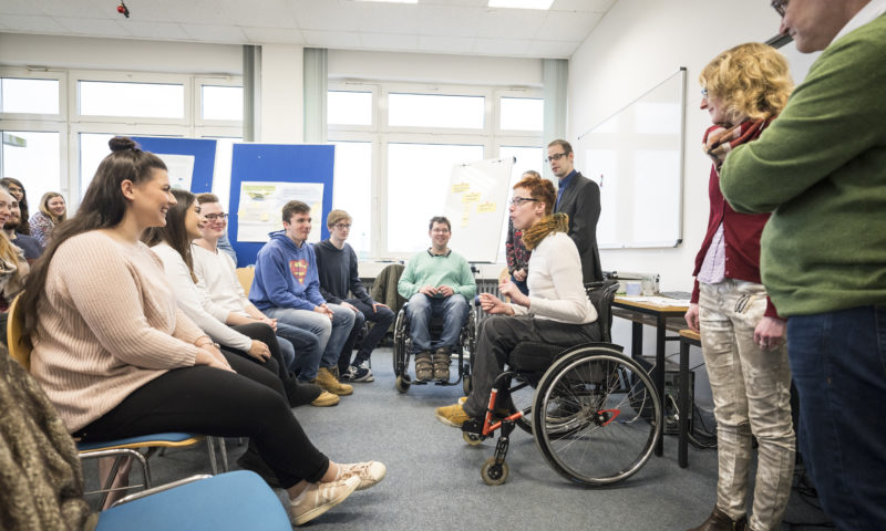 Inclusion at universities and the job market
