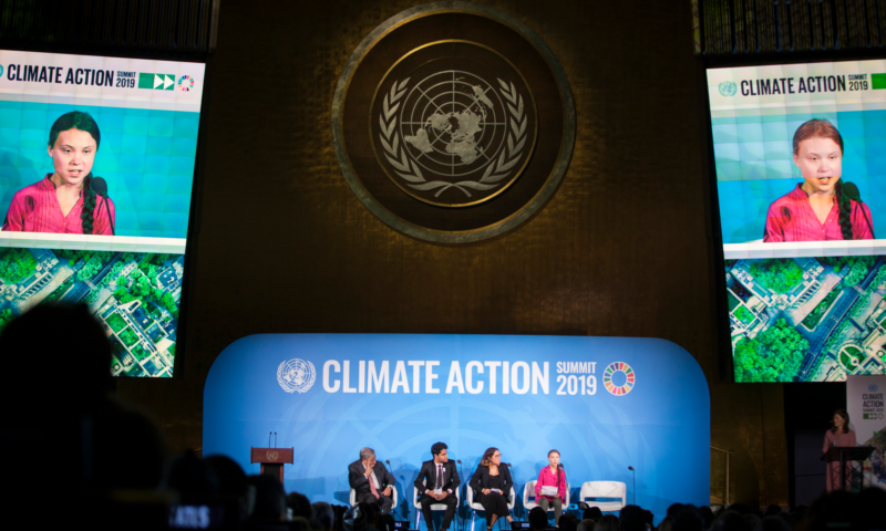 World's 1.8 billion youth must 'have a say in the future of the planet'