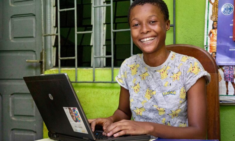 How many children and young people have internet access at home?