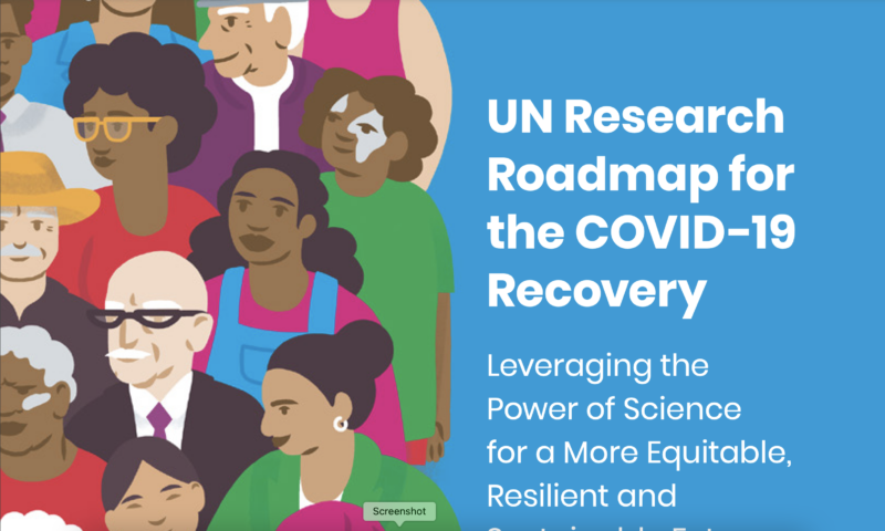 UN Research Roadmap for the COVID-19 Recovery