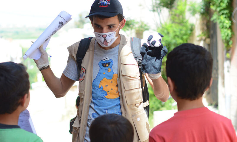Working with and for Young People in Humanitarian Emergencies