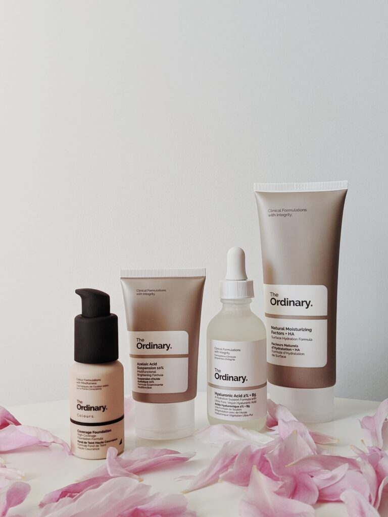 skincare and dermaplaning