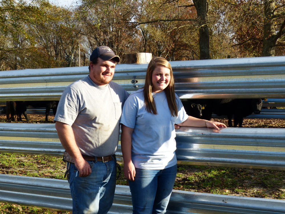 Happy Customers of our New LiveStock Steel W-Beam Guardrail