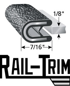 Rail-Trim Guardrail Edge
