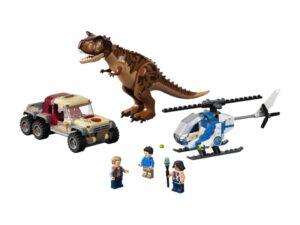 LEGO Jurassic World Camp Cretaceous Carnotaurus Breakout
