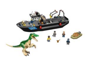 LEGO Jurassic World Camp Cretaceous Boat Set