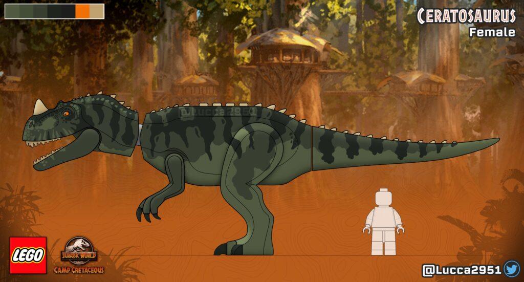 LEGO Jurassic World Camp Cretaceous - Lucca Ceratosaurus