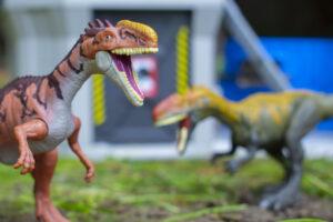 Monolophosaurus In Paddock