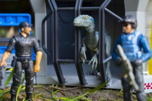 Mercenaries Guarding Blue