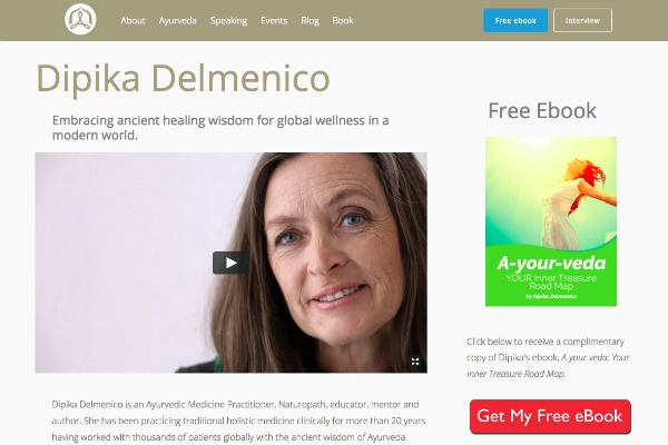Dipika Delmenico website