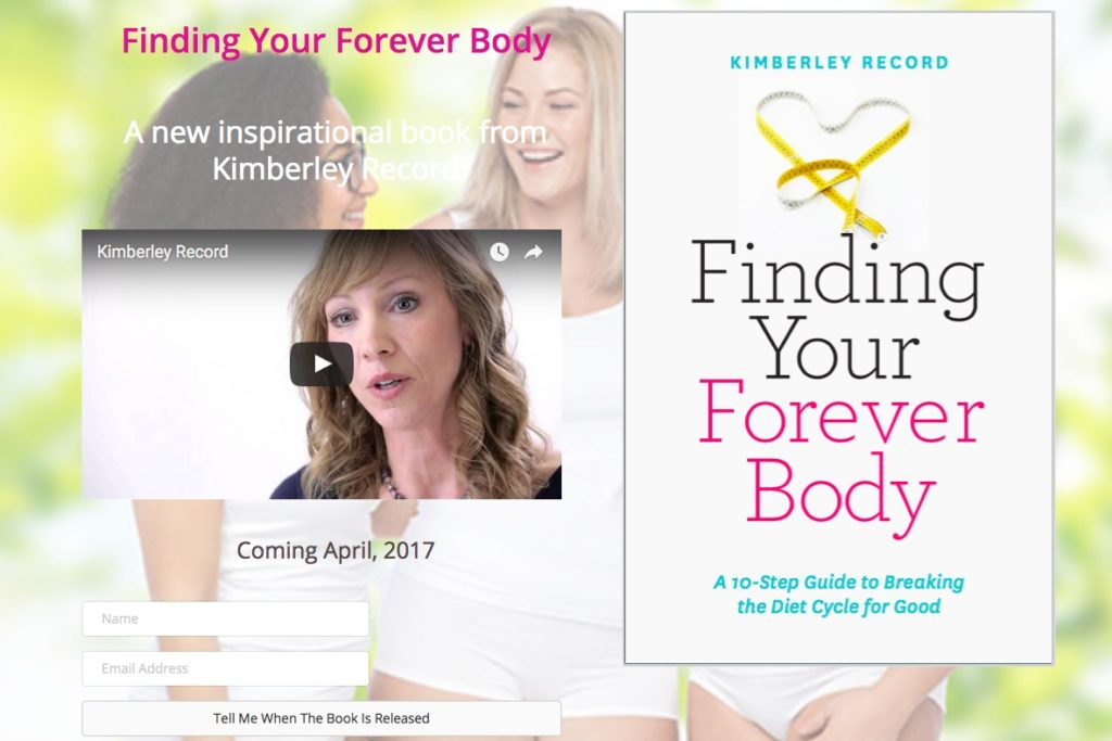 Finding Your Forever Body Kimberley Record website