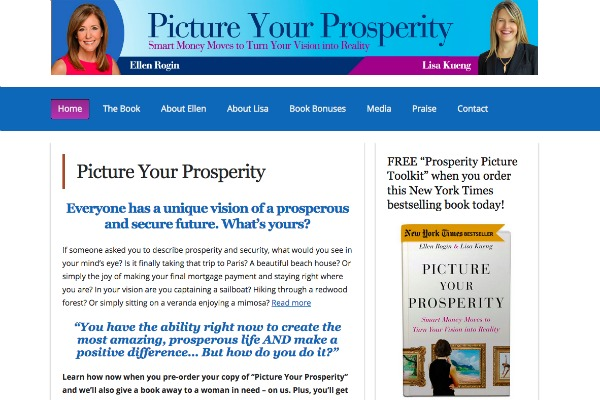 Picture Your Prosperity website
