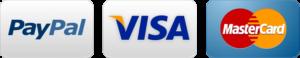 PayPal VISA MC logo