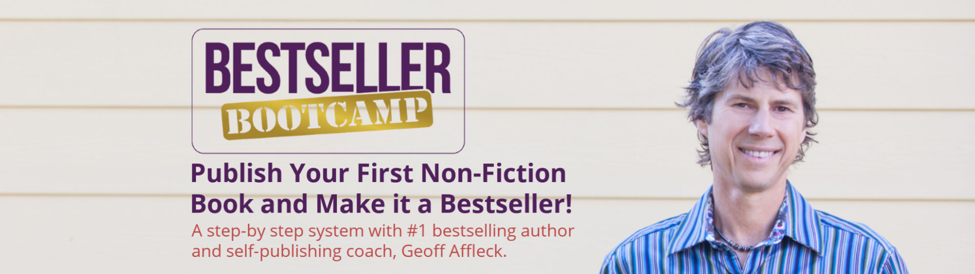 Bestseller Bootcamp with Geoff Affleck