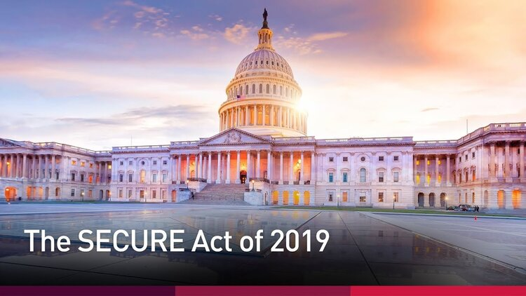 Walker Capital The SECURE Act of 2019
