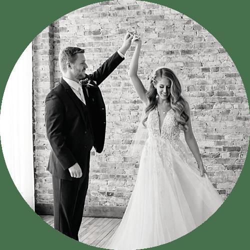 Mercantile Hall | Bride & Groom | Burlington, WI
