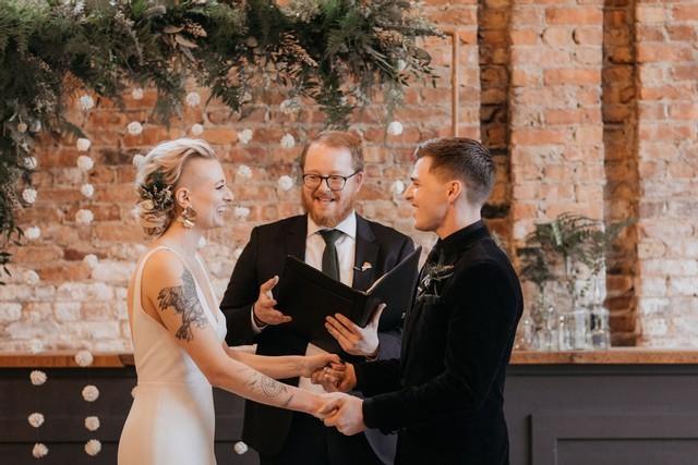 Mercantile Hall Wedding