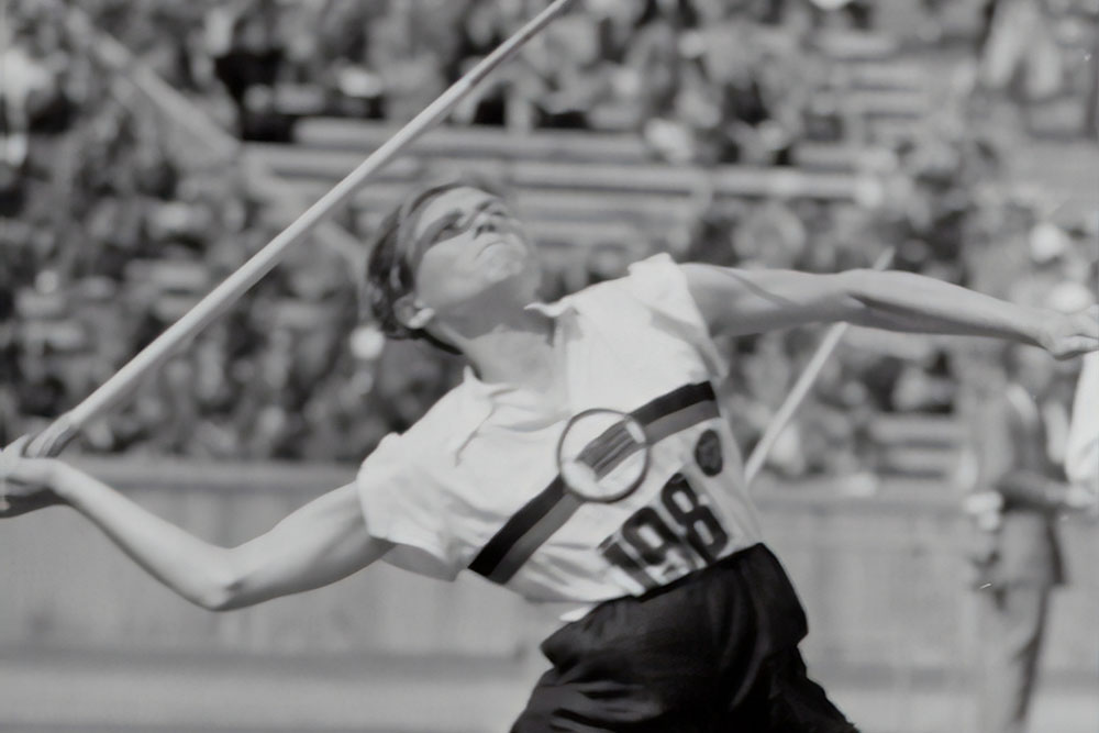 women throwing a javelin used in the javelin cms blog post