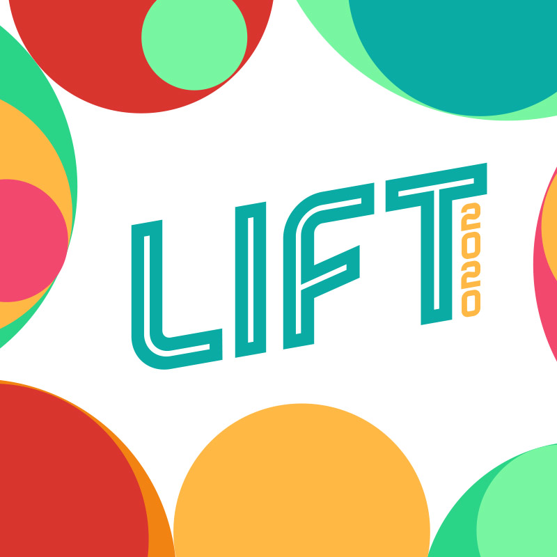 logo for the lift conference 2020