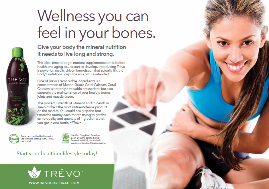One in a series of social media campaign pieces to promote wellness and healthy living