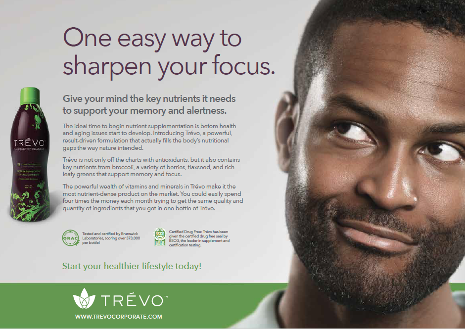 screenshot from a social media and print campaign piece to promote healthy living through use of the product