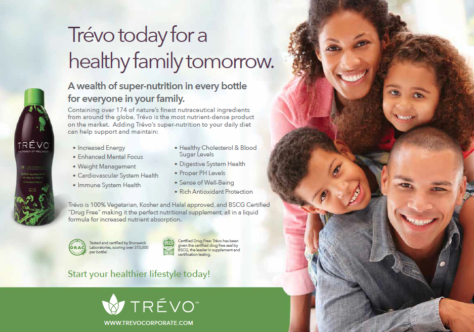 screenshot from a healthy family social media campaign piece and print piece