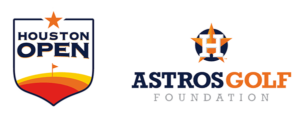 astros foundation and houston open logos