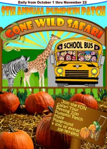 9th Annual Gone Wild Safari Pumpkin Patch @ 9th Annual Pumpkin Patch | Pineville | Louisiana | United States