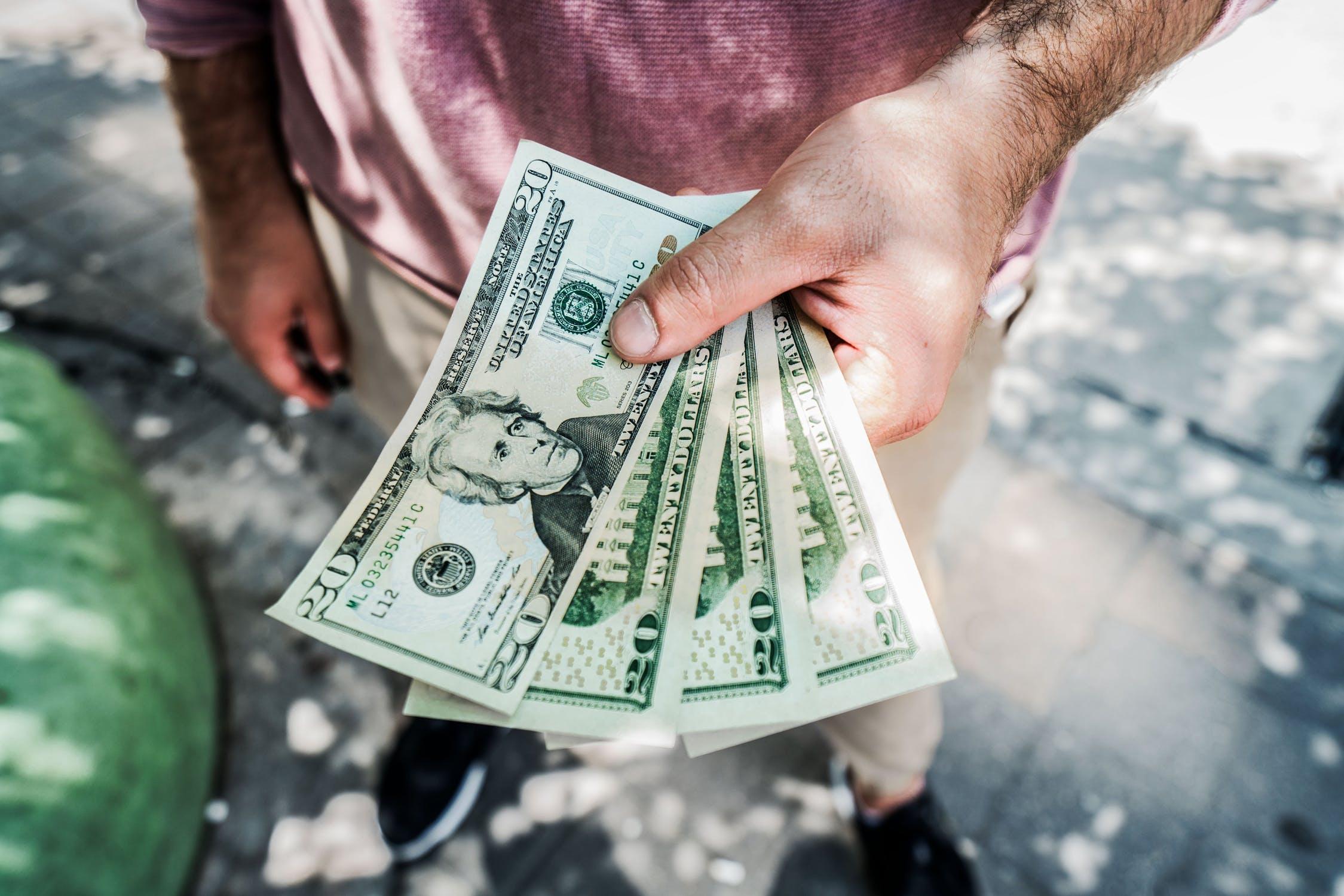 money, salary, cash, pay