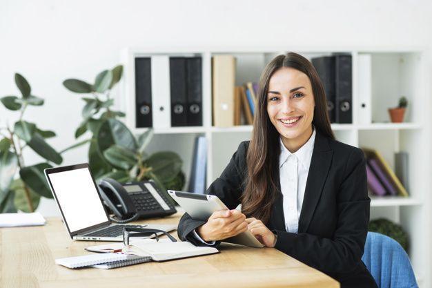 freelancer, worker, businesswoman