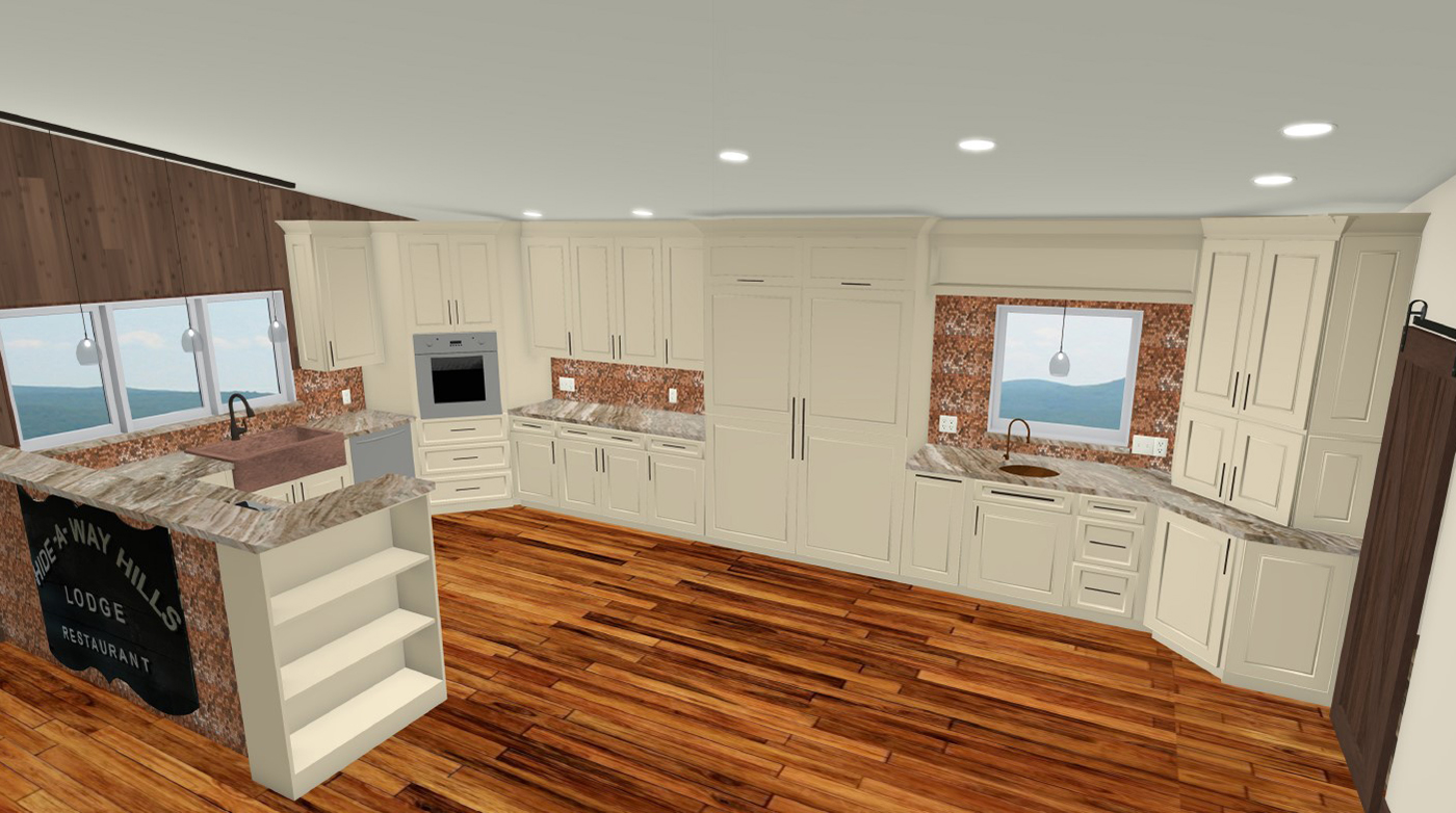 NJW Construction from Blueprint to Reality kitchen remodel digital model
