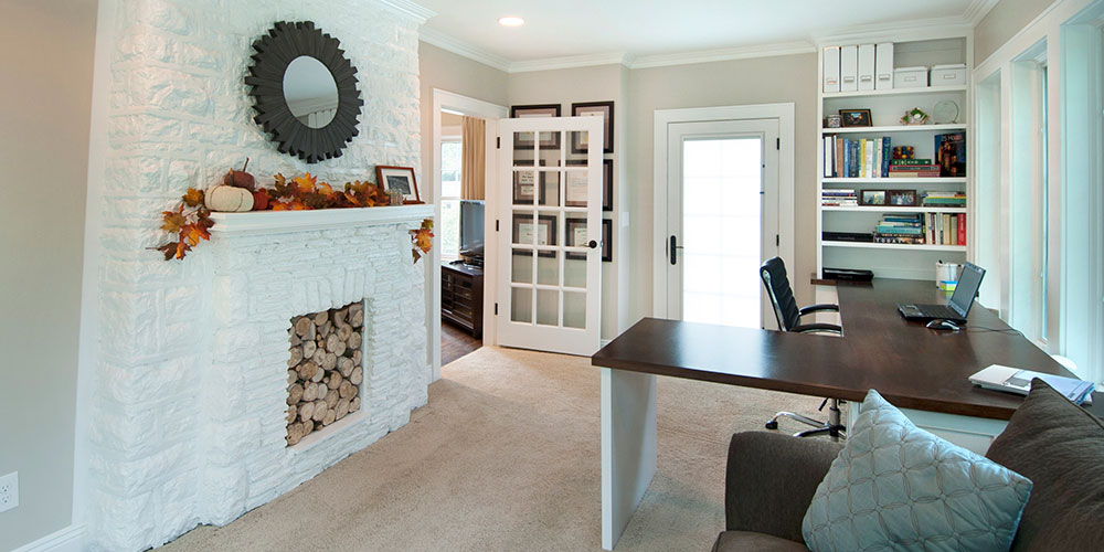 Interior shot of home remodeled by NJW Construction