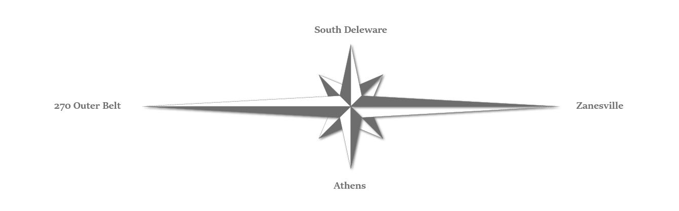 Compass Rose Service Area