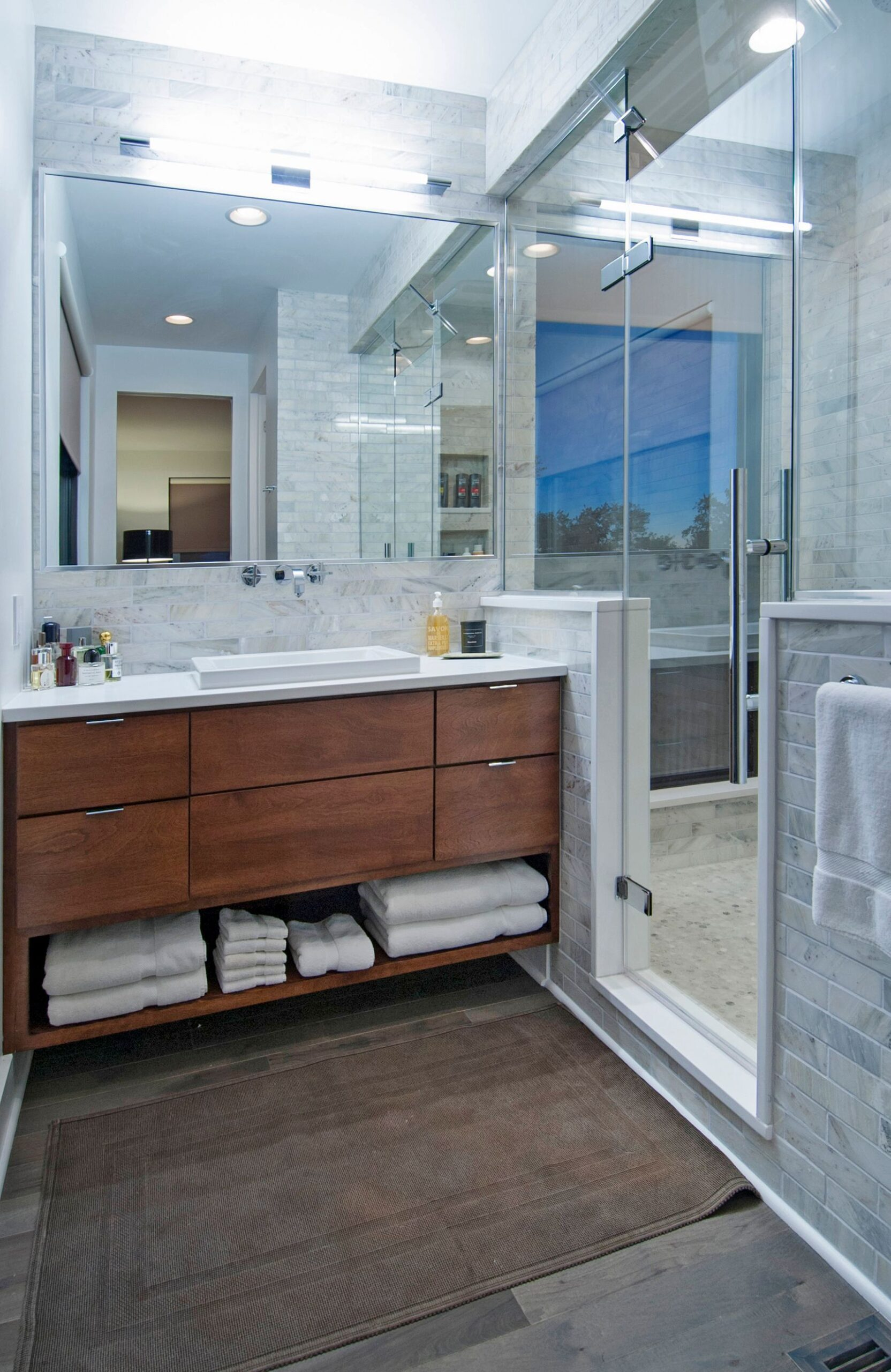 Design Tricks to Make Small Bathrooms Feel Much Larger