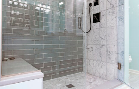 NJW Construction bathroom remodels