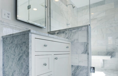 NJW Construction bathroom remodels