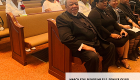 BISHOP MILES E. FOWLER BIRTHDAY CELEBRATION
