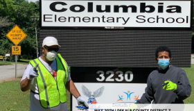 COLUMBIA DRIVE NEIGHBORHOOD LITTER CLEANUP