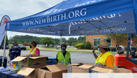 GA DEPT. OF AGRICULTURE FOOD GIVEAWAY