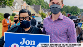 JON OSSOFF DRIVE-BY RALLY