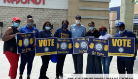 NAACP VOTER REGISTRATION RALLY