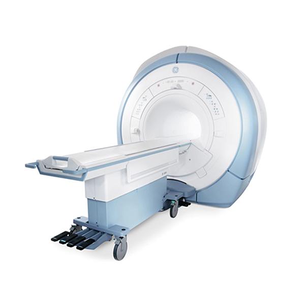 1.5 Tesla GE-MRI machine (GE-HDX 16 channel)