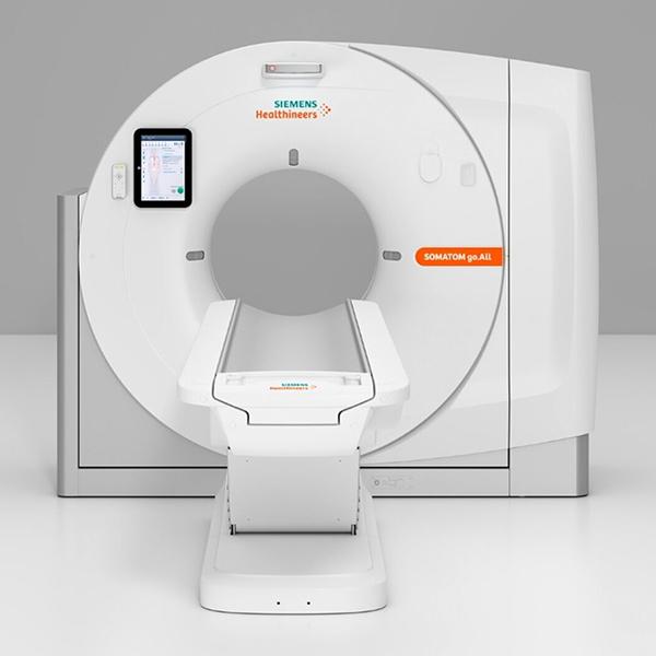 32 slice Siemens somatom Go CT scan machine