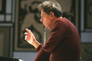 What in the world is Philip Glass up to?